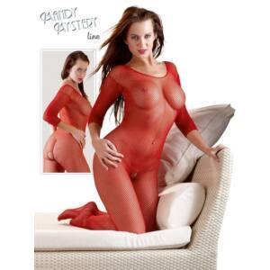 Egészalakos necc overall - vörös