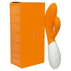 LELO Ina 2 - duó vibrátor (narancs)