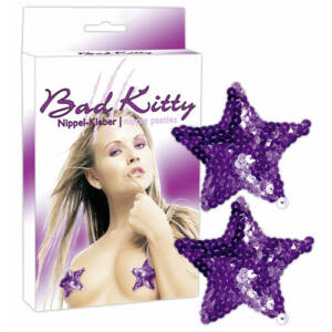 Bad Kitty - Csillag bimbódísz - lila