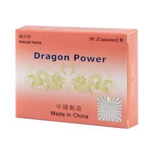 Dragon Power - kapszula férfiaknak (3db)